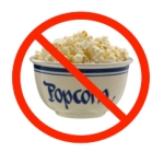 "No ""marketing popcorn"""