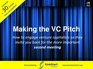 Making the Pitch: While this slide deck is geared specifically to VC presentations, the same type of agenda will serve sales reps well as they introduce themselves to new prospects.